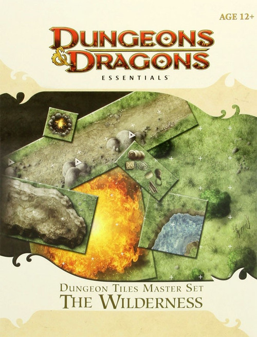 Dungeons & Dragons D&D 4th Edition Dungeon Tiles Master Set The Wilderness Roleplay Set