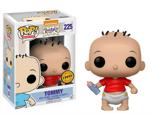 Funko Nickelodeon Rugrats POP! TV Tommy Vinyl Figure #225 [Red Shirt, Chase Version]
