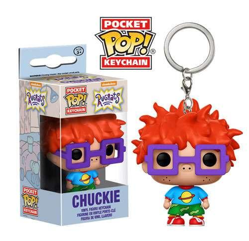 Funko Nickelodeon Rugrats Pocket POP! TV Chuckie Keychain