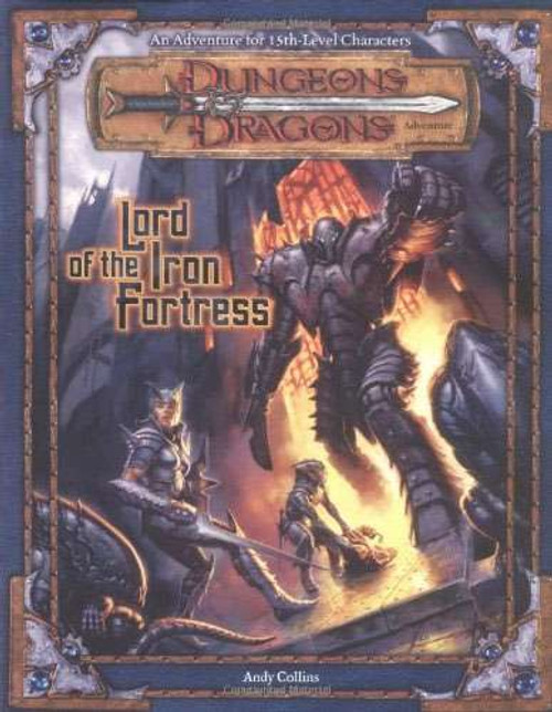 Dungeons & Dragons D&D 3rd Edition Lord of the Iron Fortress