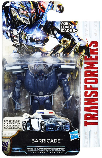 Transformers The Last Knight Barricade Legion Action Figure