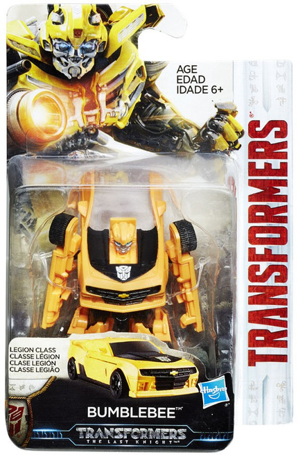Transformers The Last Knight Bumblebee Legion Action Figure
