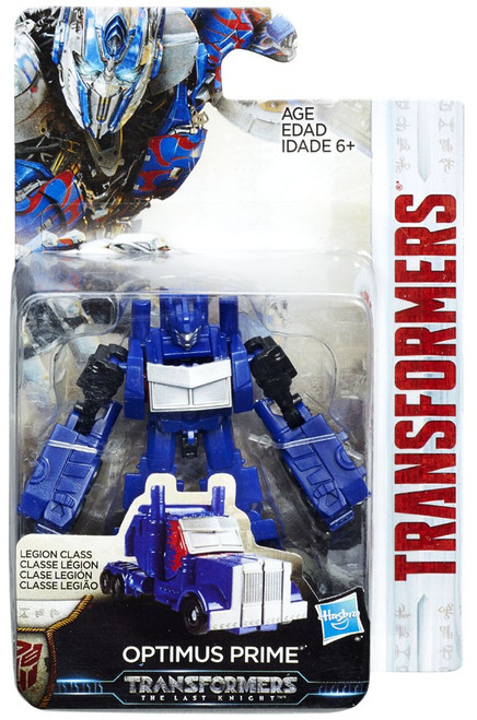 Transformers The Last Knight Optimus Prime Legion Action Figure