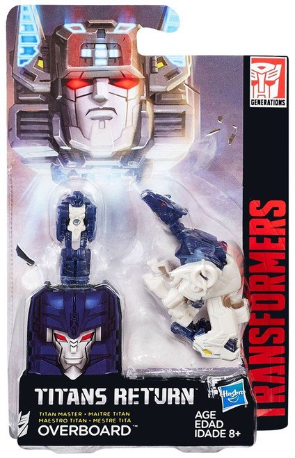 Transformers Generations Titans Return Overboard Action Figure