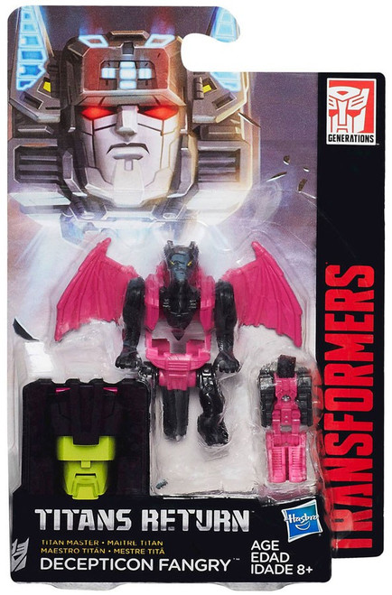 Transformers Generations Titans Return Decepticon Fangry Action Figure