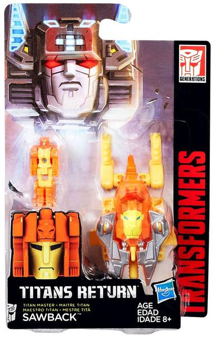 Transformers Generations Titans Return Sawback Action Figure
