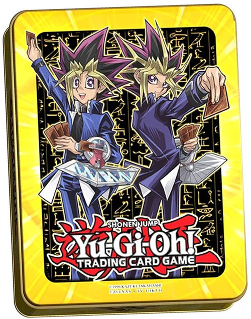 YuGiOh Trading Card Game 2017 Yami Yugi & Yugi Muto Mega Tin Set [3 Booster Packs!]