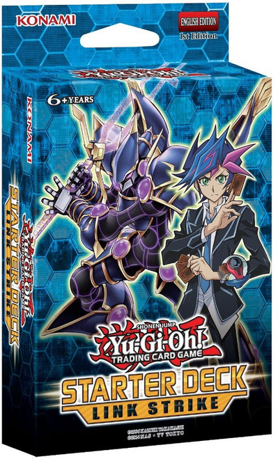 YuGiOh Trading Card Game Link Strike Starter Deck