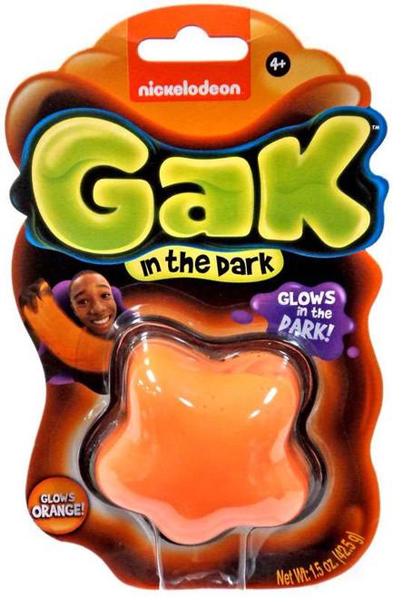 Nickelodeon Gak Glow in the Dark Glows Orange