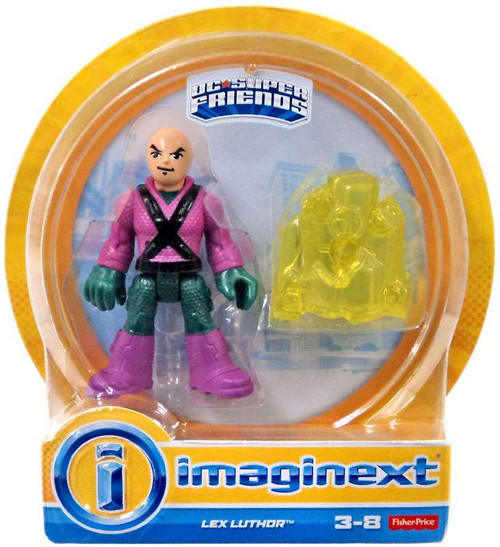 Fisher Price DC Super Friends Imaginext Lex Luthor 3-Inch Mini Figures