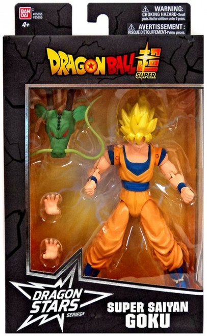 Dragon Ball Super Dragon Stars Series 1 Super Saiyan Goku Action Figure [Shenron Build-a-Figure]