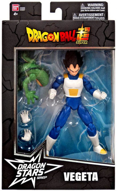Dragon Ball Super Dragon Stars Series 1 Vegeta Action Figure [Shenron Build-a-Figure]