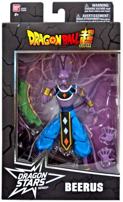 Dragon Ball Super Dragon Stars Series 1 Beerus Action Figure [Shenron Build-a-Figure]