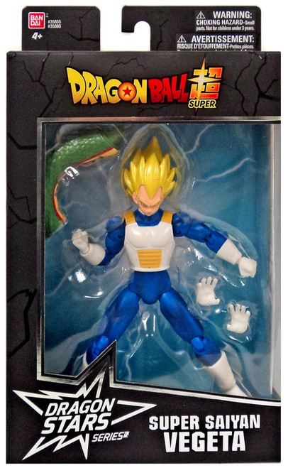 Dragon Ball Super Dragon Stars Series 2 Super Saiyan Vegeta Action Figure [Shenron Build-a-Figure]