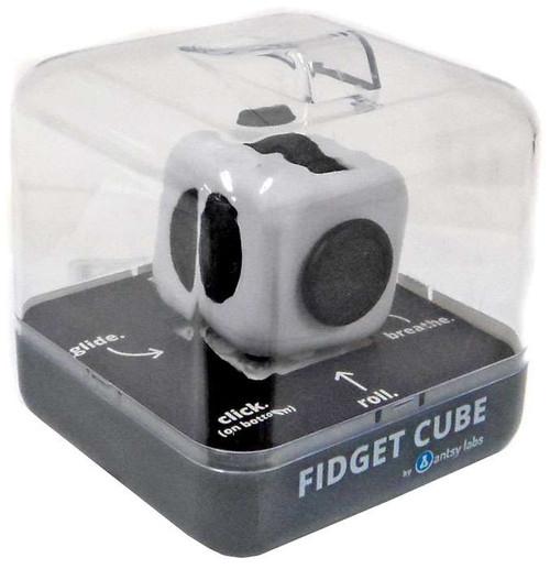 Fidget Cube Authentic White & Black Fidget Cube