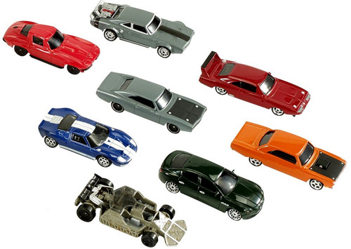 The Fast and the Furious The Fast & Furious Elite Diecast Car 8-Pack