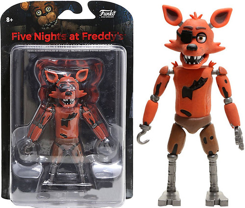 Funko Five Nights at Freddy's Foxy Exclusive Action Figure [Glow-in-the-Dark]