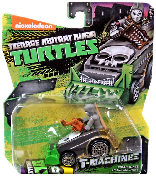 Teenage Mutant Ninja Turtles Nickelodeon T-Machines Casey Jones In Ice Machine Diecast Car
