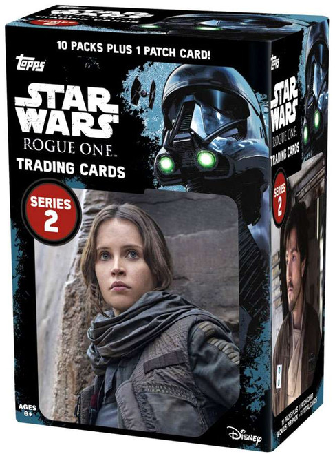 Star Wars Rogue One Series 2 Trading Card Value Box [10 Packs & 1 Patch]