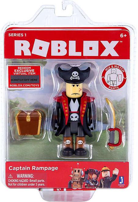 Roblox Captain Rampage Action Figure