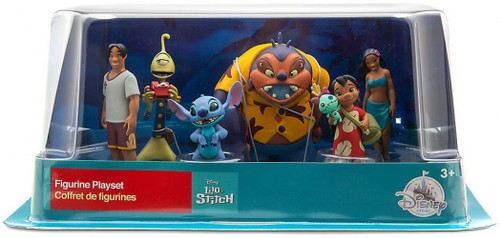 Disney Lilo & Stitch Exclusive 6-Piece PVC Figurine Playset