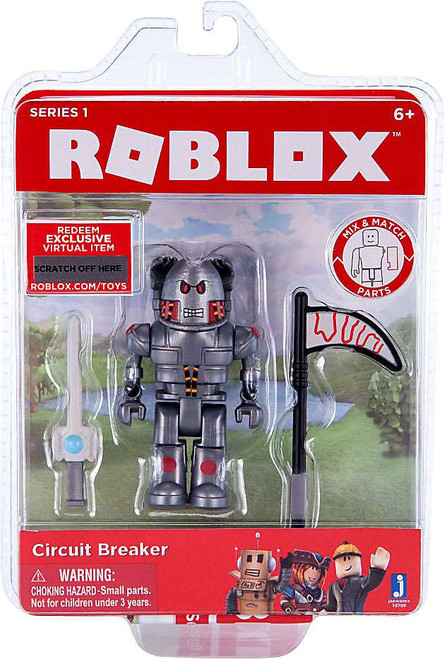 Roblox Circuit Breaker Action Figure