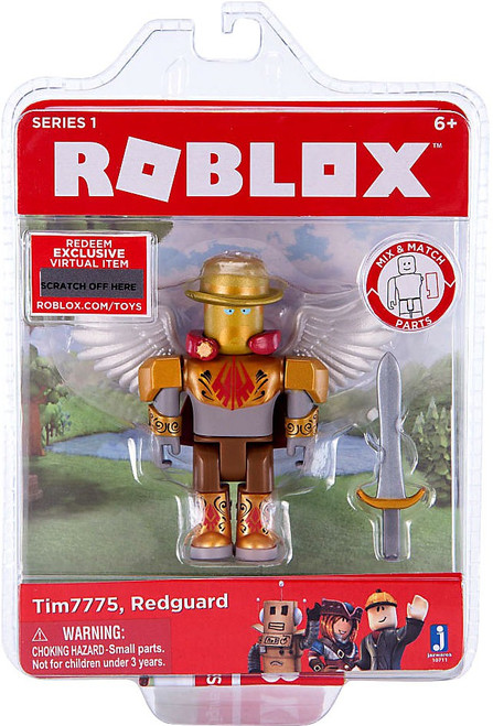 Roblox Tim7775 Redguard Action Figure