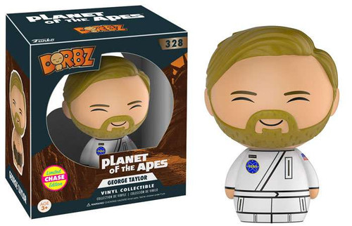 Funko Planet of the Apes Dorbz George Taylor Vinyl Figure #328 [White Suit Chase Version]
