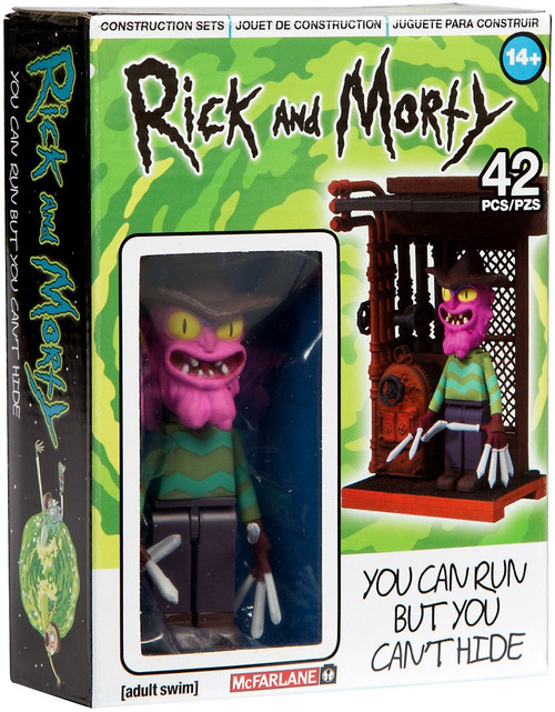 McFarlane Toys Rick & Morty You Can Run, But You Can't Hide Micro Construction Set