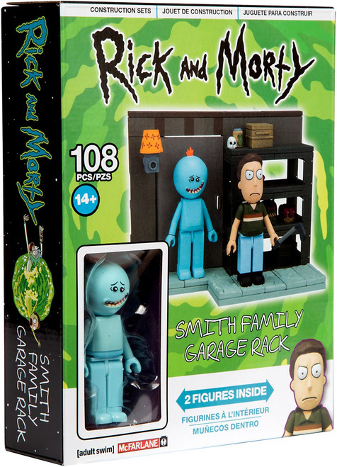 McFarlane Toys Rick & Morty Smith Garage Rack Small Construction Set
