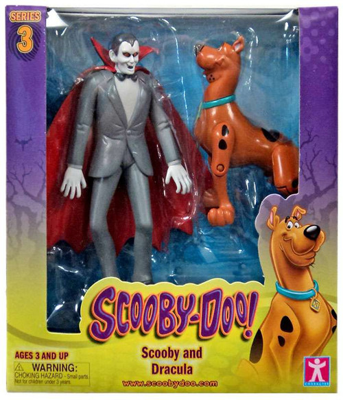 Scooby Doo Series 3 Scooby & Dracula Action Figure 2-Pack