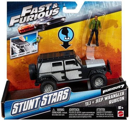 The Fast and the Furious Furious 7 Stunt Stars Tej & Jeep Wrangler Rubicon Vehicle