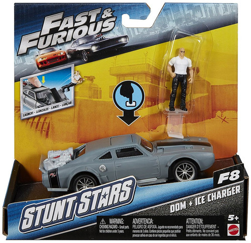The Fast and the Furious F8 Stunt Stars Dom & Ice Charger Vehicle