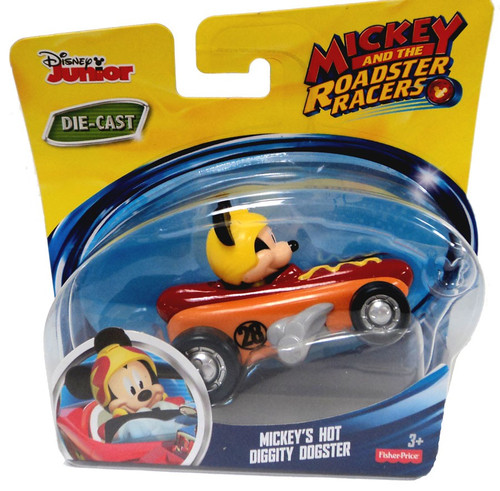 Fisher Price Disney Mickey & Roadster Racers Mickey's Hot Diggity Dogster Diecast Vehicle