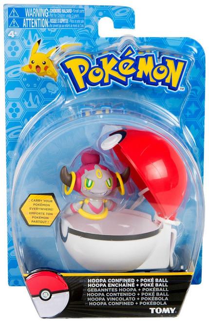 Pokemon Clip n Carry Pokeball Hoopa Confined & Poke Ball Figure Set