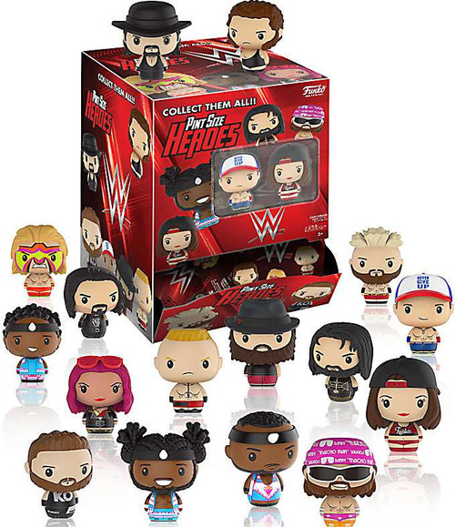 Funko WWE Wrestling Pint Size Heroes WWE Mystery Box [24 Packs]