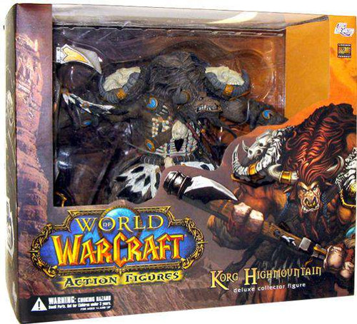 World of Warcraft Series 3 Korg Highmountain Action Figure [Damaged Package]