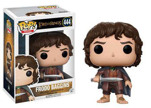 Funko Lord of the Rings POP! Movies Frodo Baggins Vinyl Figure #444 [Regular Version]