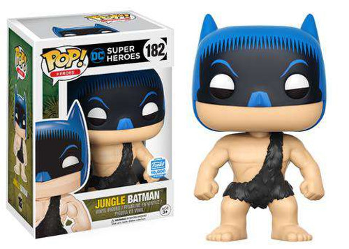 Funko DC Super Heroes POP! Heroes Jungle Batman Exclusive Vinyl Figure #182