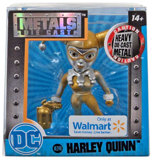DC Girls Metals Harley Quinn Exclusive Action Figure [Gold]