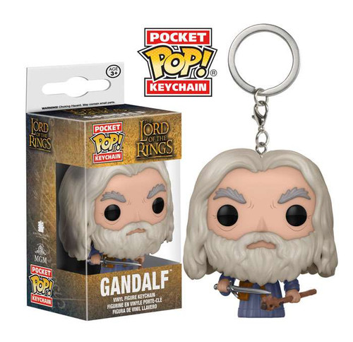 Funko Lord of the Rings Pocket POP! Movies Gandalf Keychain