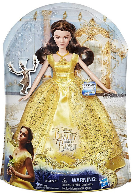 Disney Beauty and the Beast Enchanting Melodies Belle Doll