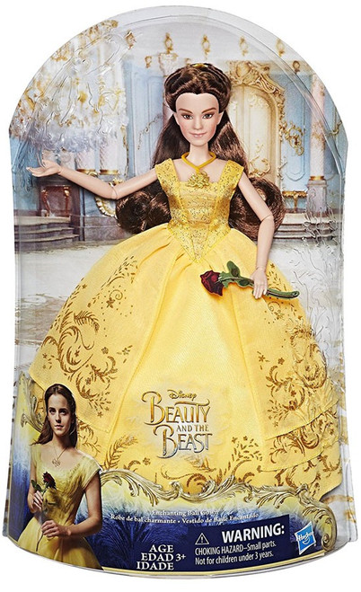 Disney Beauty and the Beast Enchanting Ball Gown Belle Doll