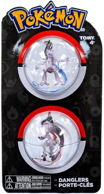 Pokemon Danglers Mewtwo X & Mewtwo Y 3-Inch Dangler 2-Pack