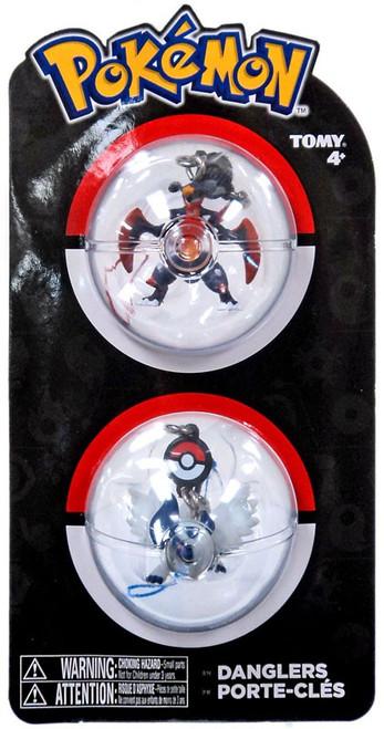 Pokemon Danglers Mega Absol & Mega Garchomp 3-Inch Dangler 2-Pack