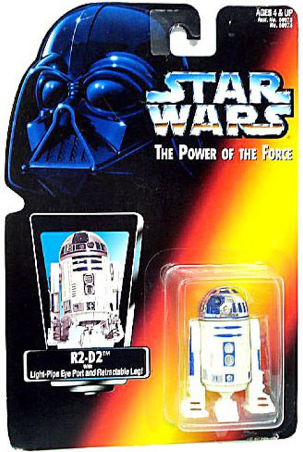 Star Wars A New Hope Power of The Force Collection R2-D2 Action Figure [Red Card]