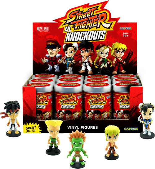 Lil Knockouts Street Fighter 2.75-Inch Mystery Box [12 Packs]