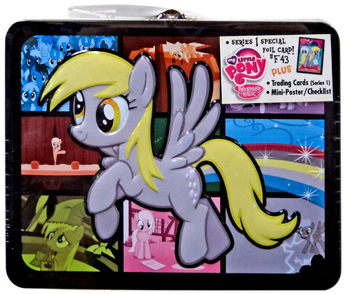 My Little Pony Friendship is Magic Trading Cards Muffins Tin Lunch Box