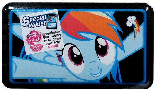 My Little Pony Friendship is Magic Trading Cards Rainbow Dash Collector Tin