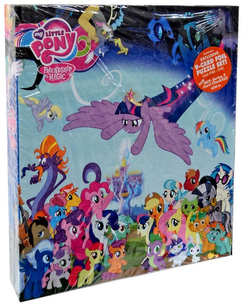 Friendship is Magic Trading Cards Series 3 My Little Pony Binder